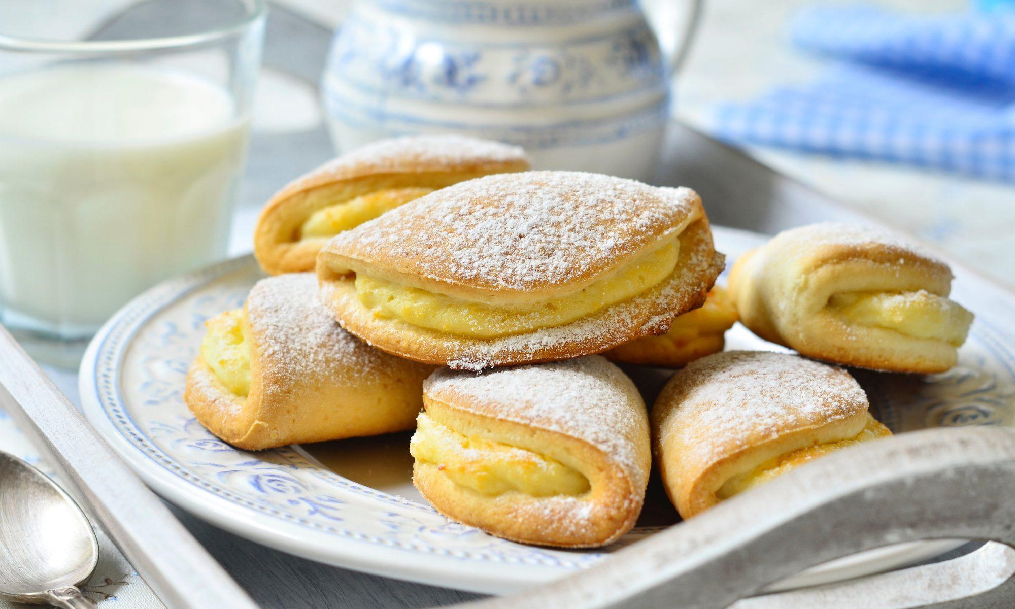 Печенье с творожной начинкой и мармеладом