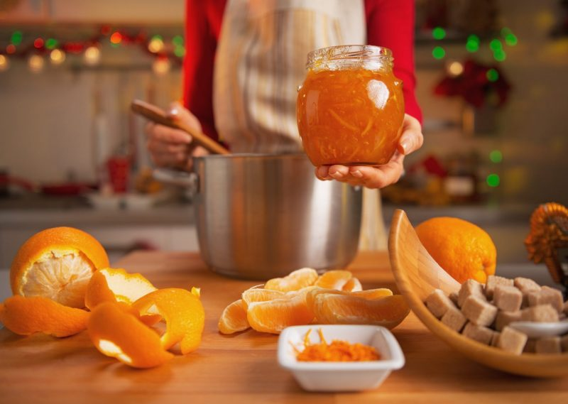Апельсиновый джем в домашних условиях