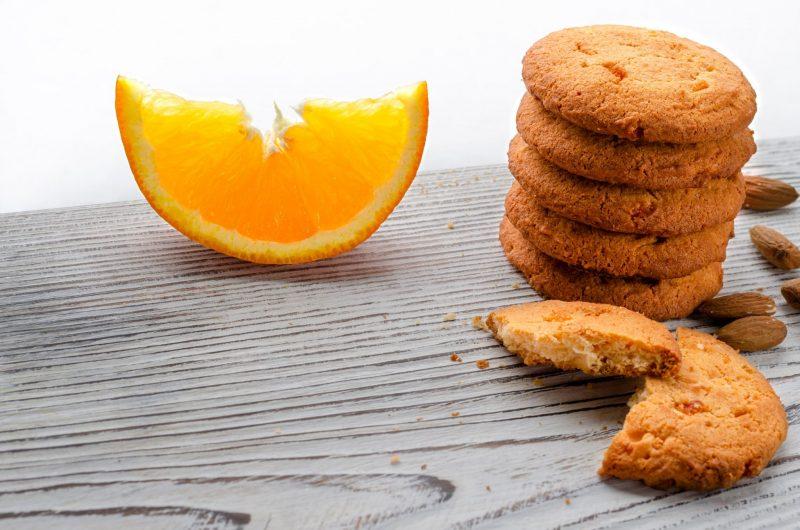 Печенье с апельсином для детей