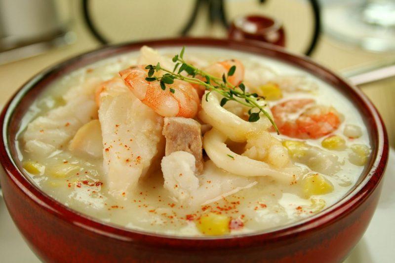 Суп с морепродуктами: рецепт блюда ресторанного уровня