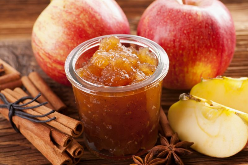 Вкусный джем из яблок