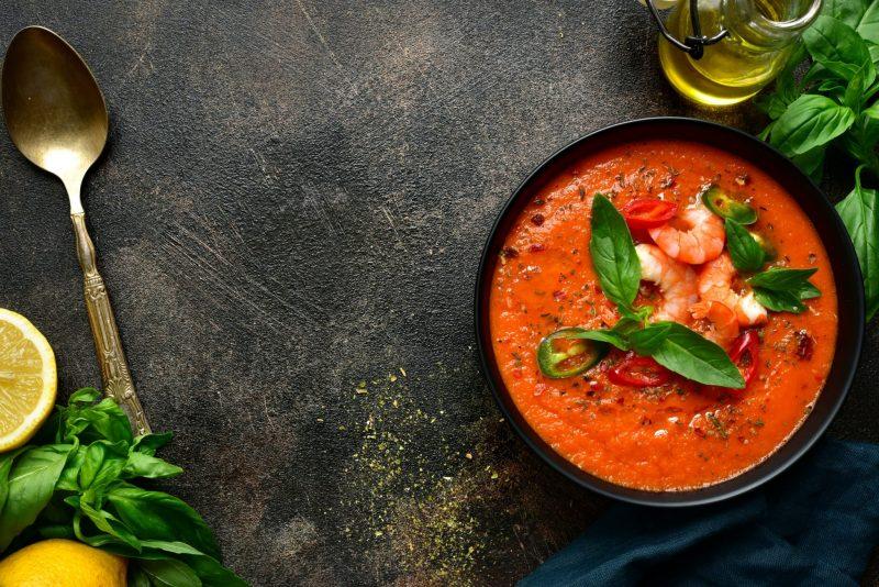 Как приготовить быстрый суп без мяса