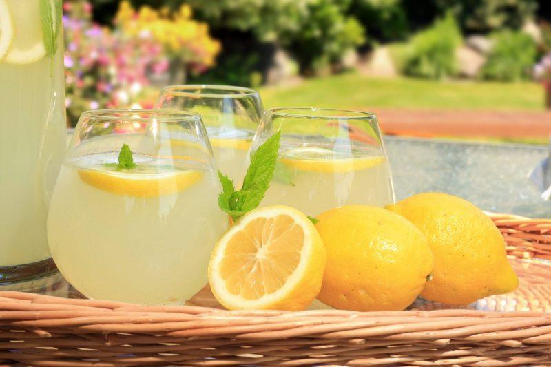 Компот из лимона