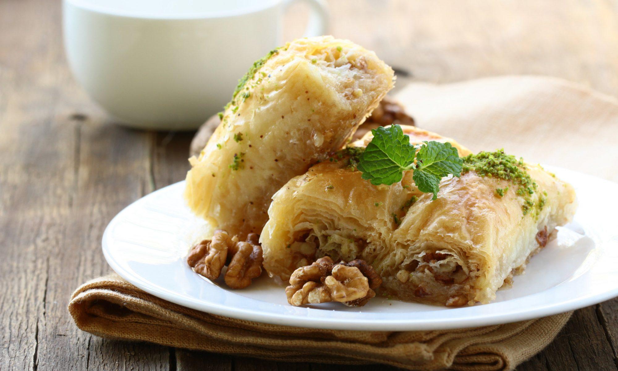 Пахлава медовая: рецепт домашнего приготовления