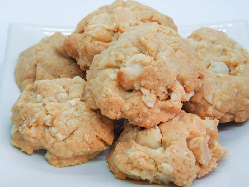 Домашнее ореховое печенье