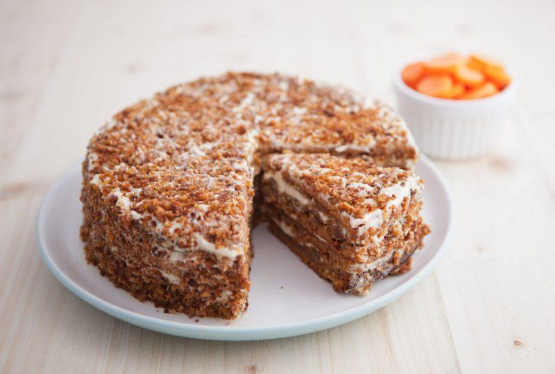 Простой рецепт орехового торта