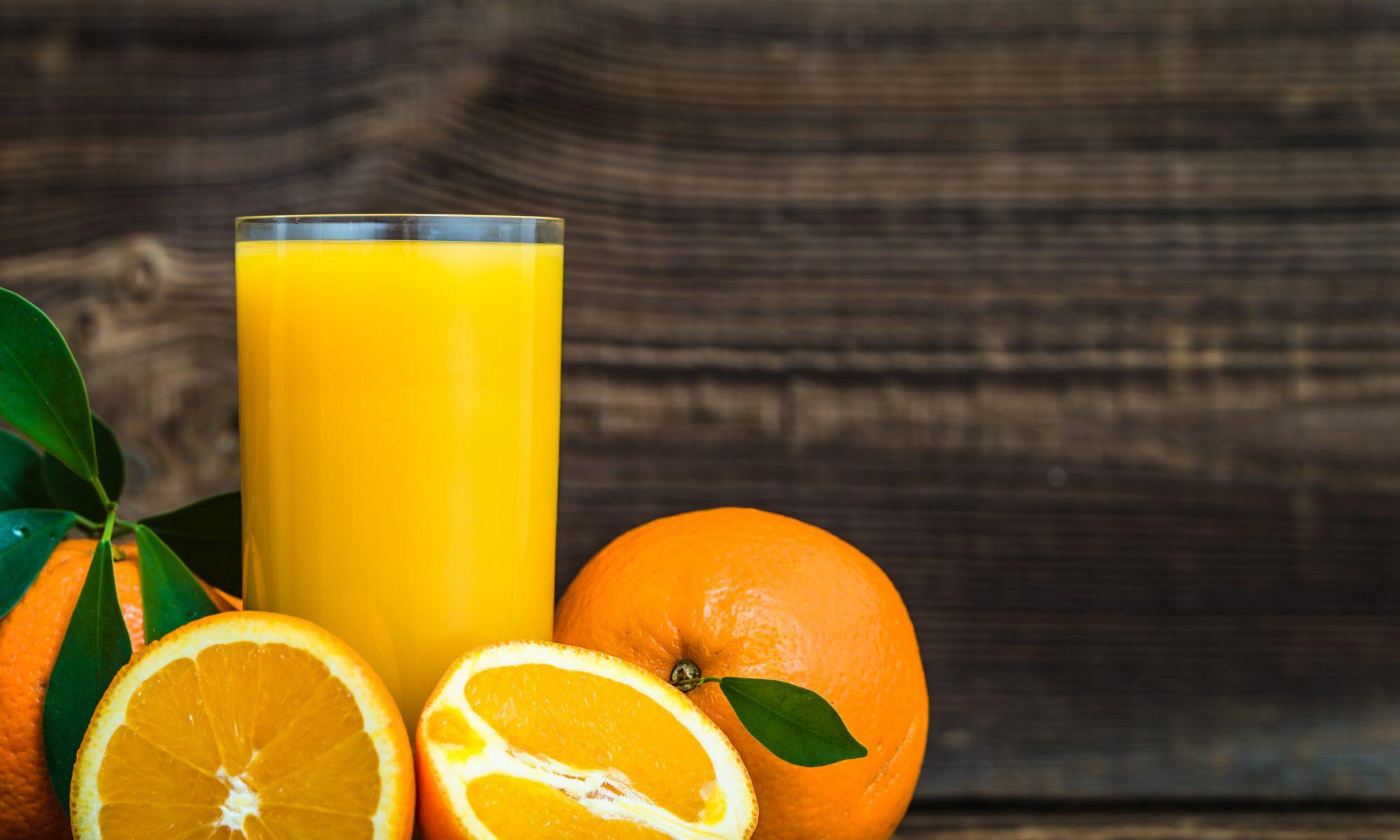 Сок из замороженных апельсинов