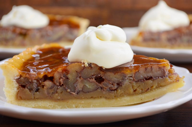 Ореховый пирог: рецепт в английском стиле