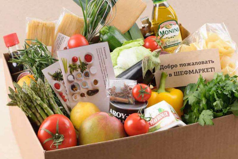 Удобство заказа еды от Шефмаркет