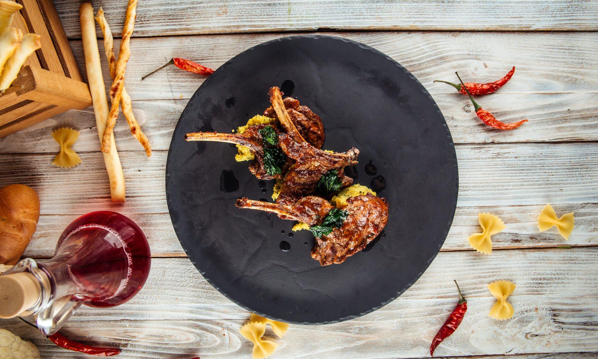 Базовый рецепт антрекота из баранины