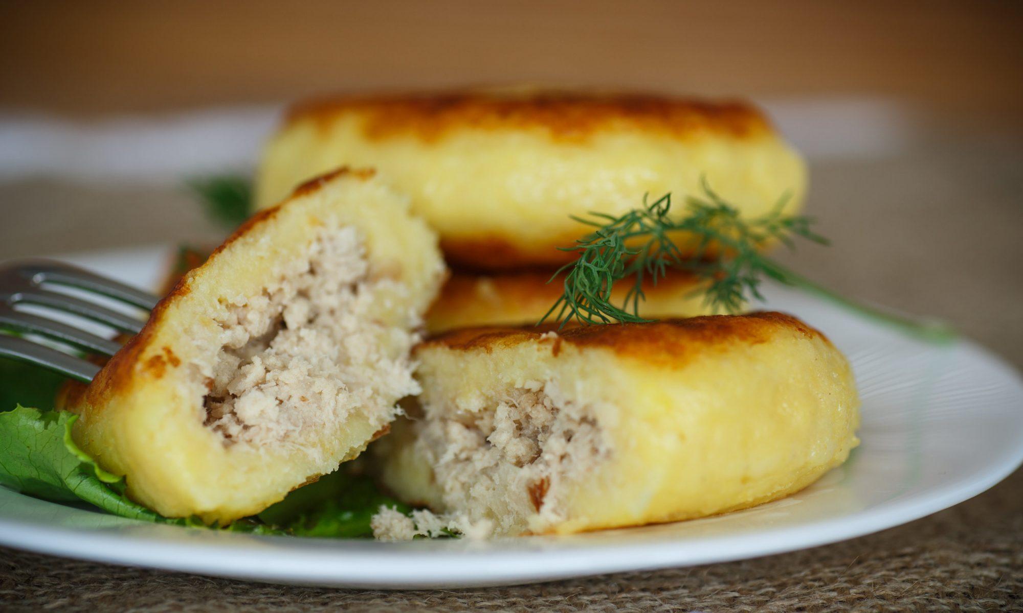 Зразы картофельные в духовке