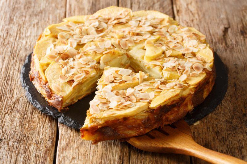 Итальянский пирог с яблоками