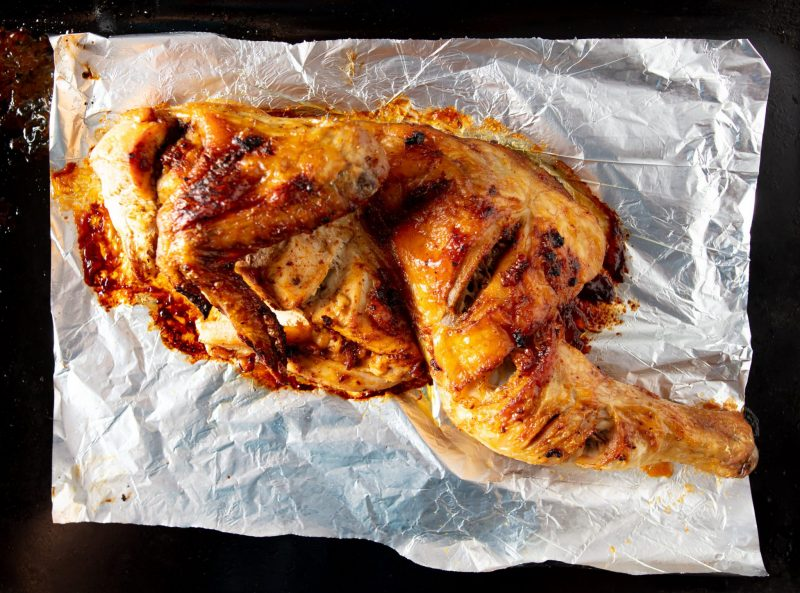 Классическая запеченная курица