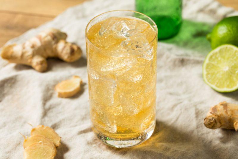 Имбирный лимонад в домашних условиях