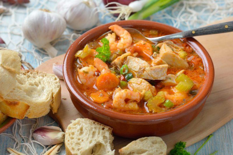 Суп с морепродуктами рецепт