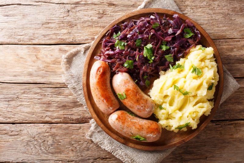 Простой рецепт баварских колбасок