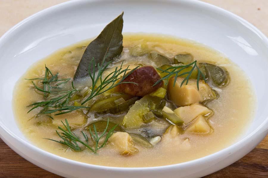Грибной суп-калья