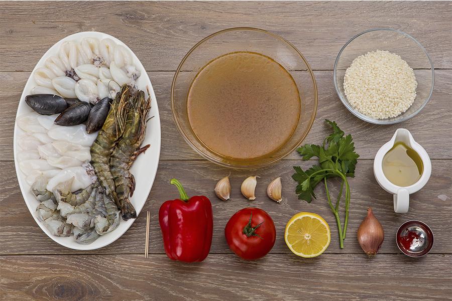 Паэлья с морепродуктами от Шефмаркет