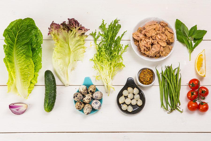 Диетический салат нисуаз от Шефмаркет