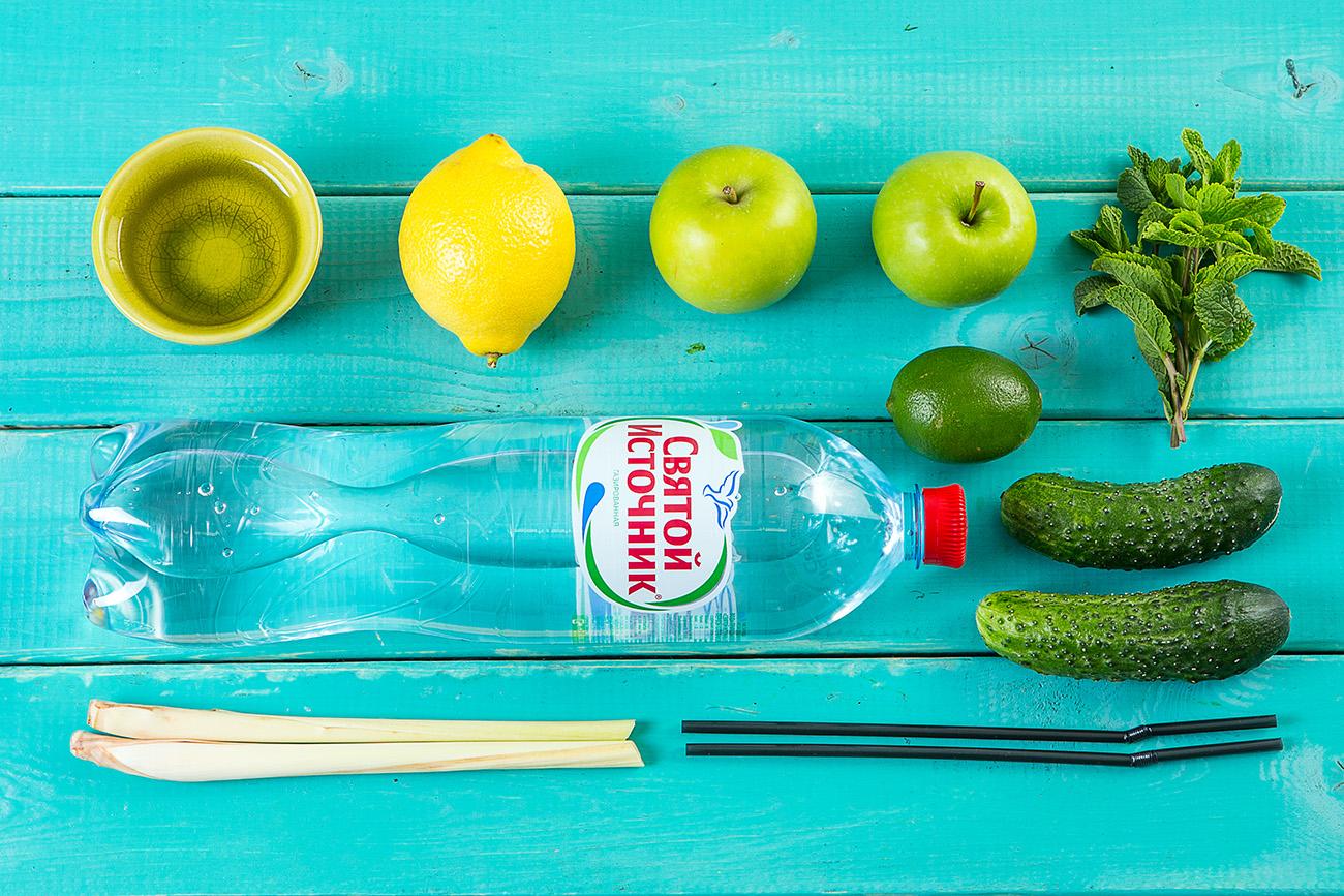Огуречный лимонад от Шефмаркет